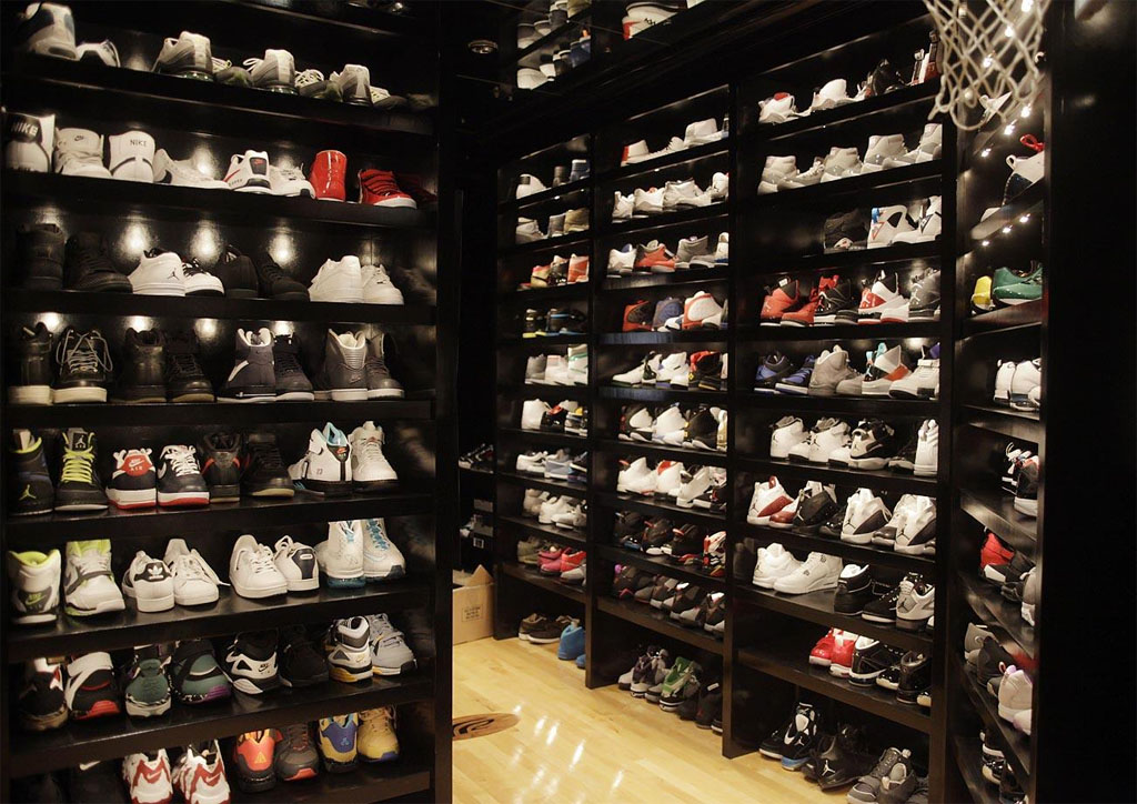 Joe Johnson Sneaker Closet 2