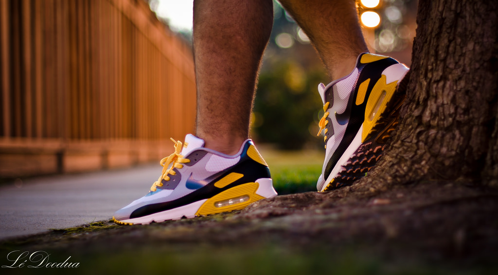 low priced f1c85 701cb ... TheDooder in the Livestrong x Nike Air Max 90 Hyperfuse .