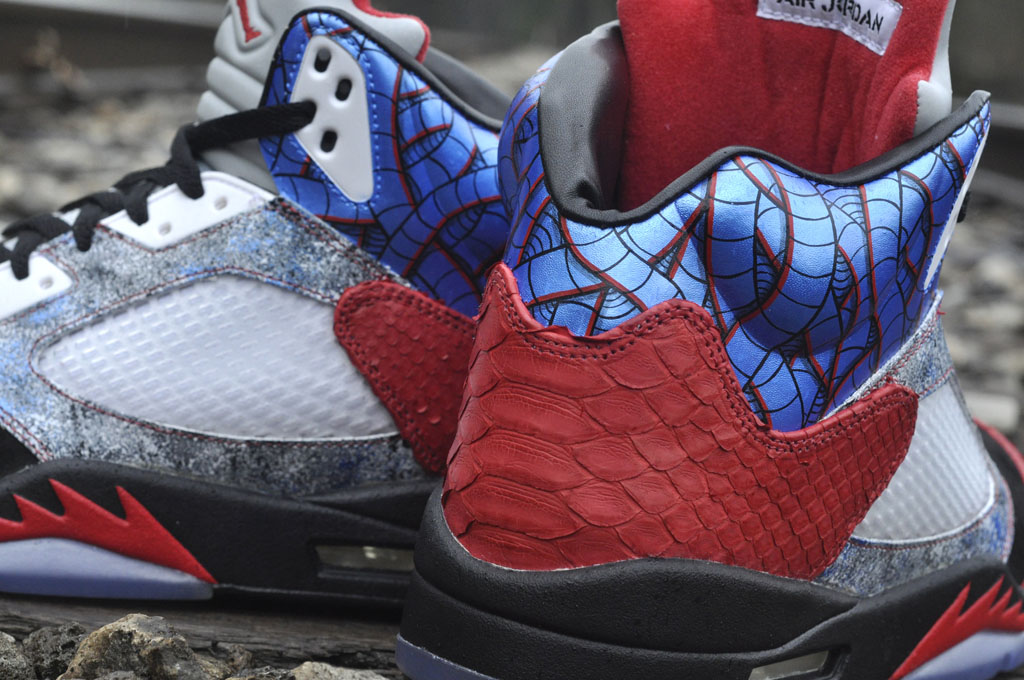 JBF Customs x Sekure D - Air Jordan 5 Cobra Commander (5)