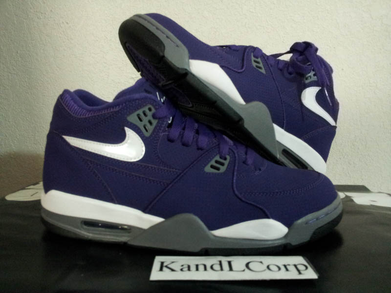 Nike Air Flight 89 HoH House of Hoops Club Purple White Cool Grey Black 513795-510 (1)