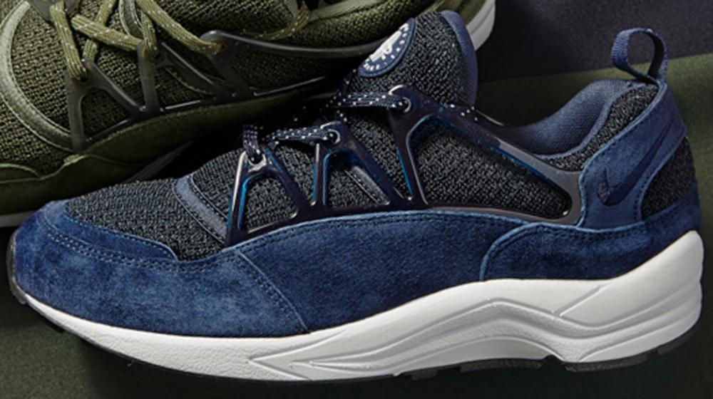 navy blue huaraches