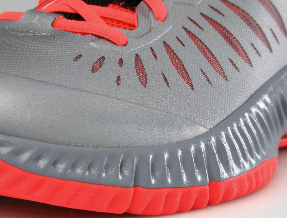 huge selection of 2e5ac 26ede Jordan Super Fly Stealth White Bright Crimson Black 528650-049 (13)