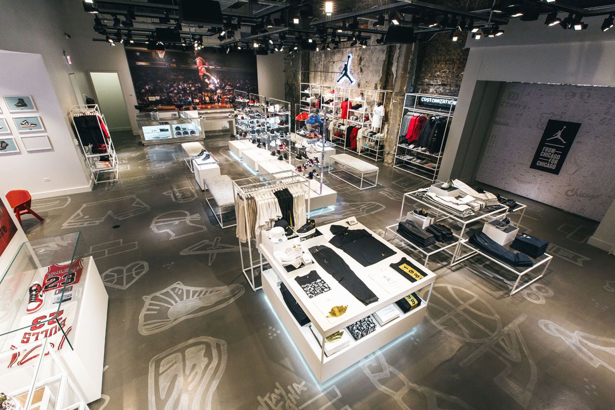 Get A Look Inside The Air Jordan Store In Chicago Sole