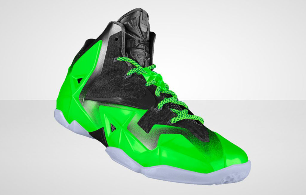 NIKEiD LeBron 11 'Forging Iron' Option (4)