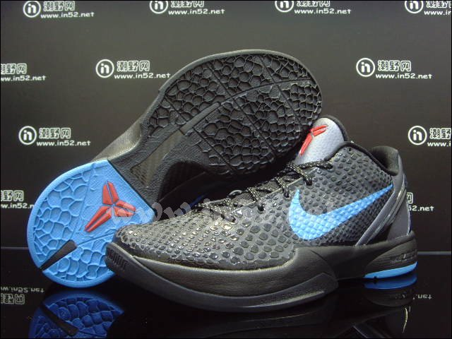 pretty nice 76a6b d9a86 Nike Zoom Kobe VI Dark Grey Blue Black Chilling Red 429659-016