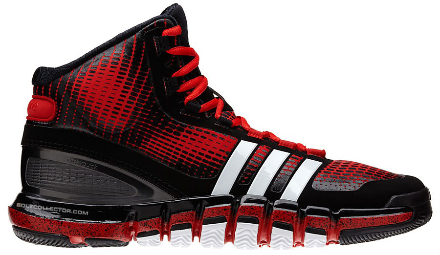 adidas Crazyquick Black Red White Speckle G66811 (1)
