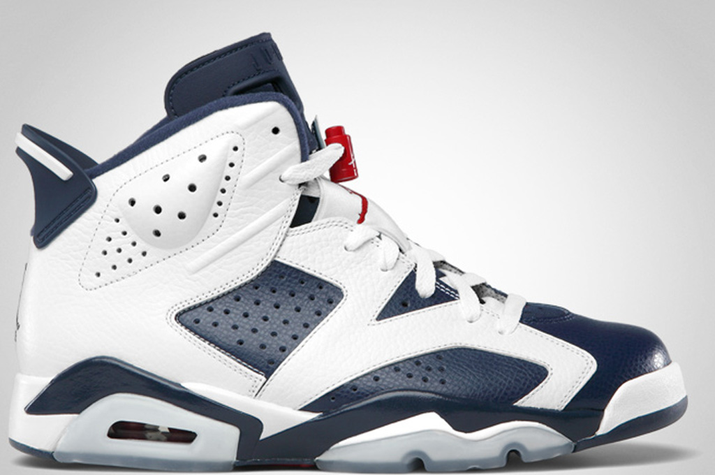 nike air jordan 6 retro olympic 2008 paintinf