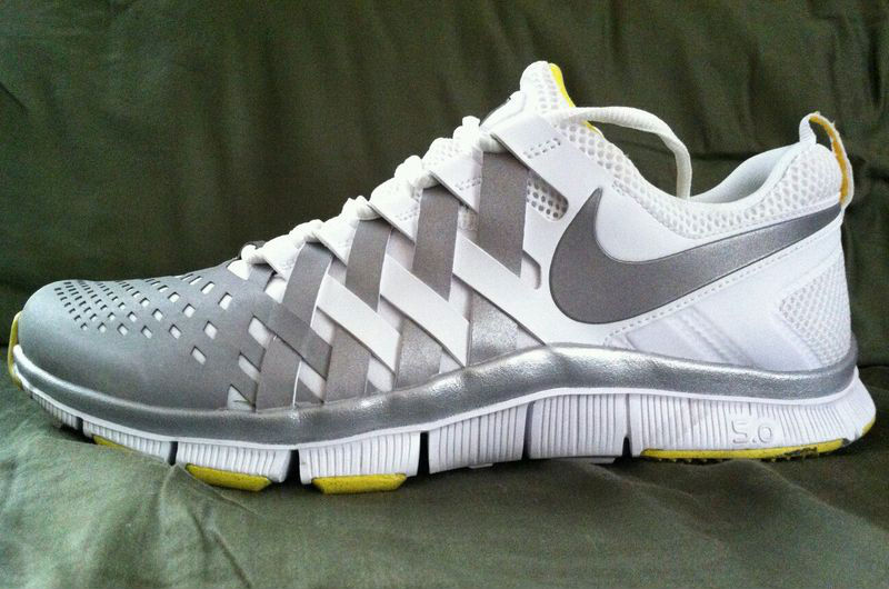 Nike Free Trainer 5.0 V4 Oregon Ducks Spring Game (2)