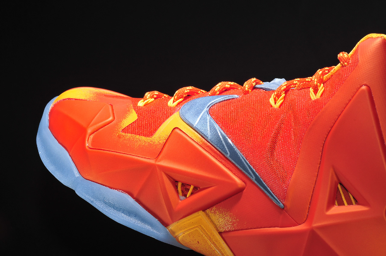 Nike LeBron 11 Forging Iron Hyperposite and Dynamic Flywire
