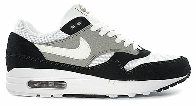 best website be294 79012 Nike Air Max 1 Black Grey (1)