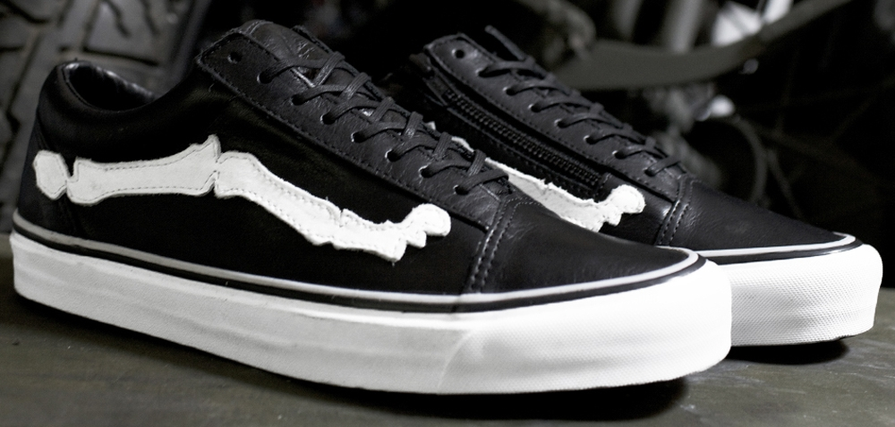 Vans Old Skool Zip LX Black/White