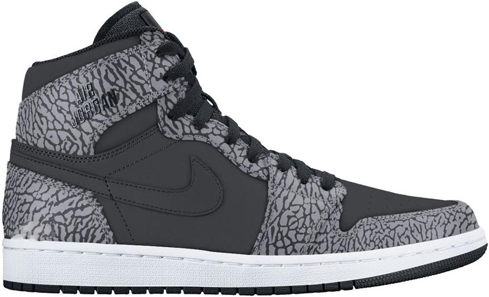 Air Jordan 1 Retro High Black/Cement Grey-White