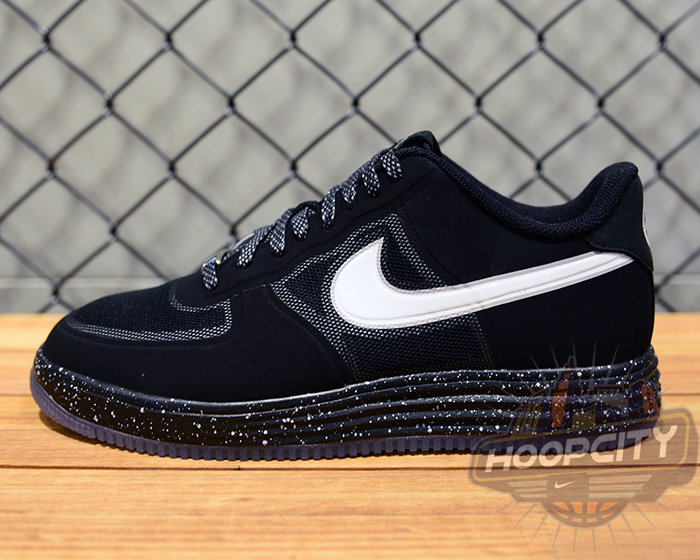 sale retailer dfa73 1557d Nike Lunar Force 1 Fuse - Black   White