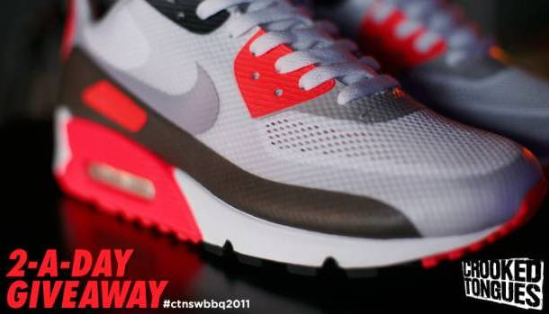 e480b5e8cd3f Crooked Tongues BBQ 2011 x Nike Air Max 90 Hyperfuse