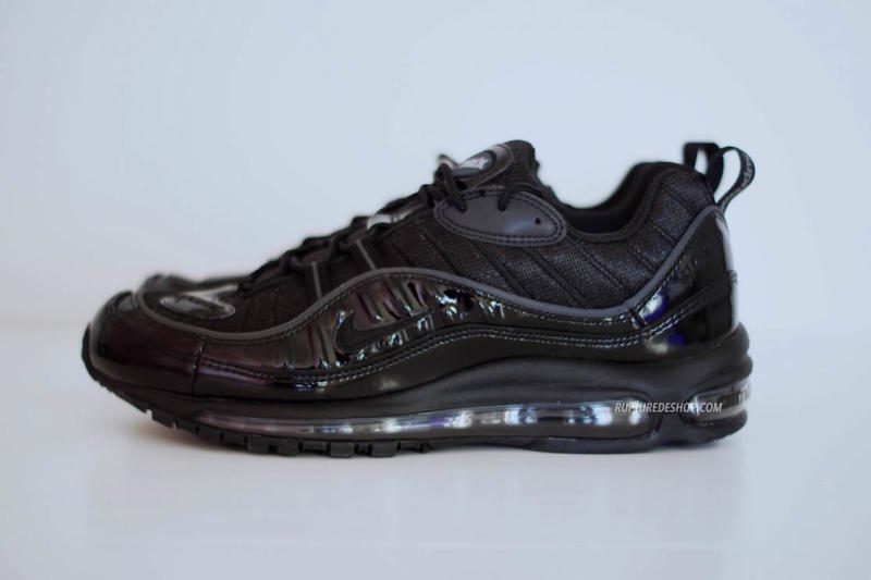 Supreme x Nike Air Max 98 Black (1)