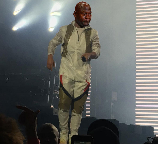 Best Michael Jordan Crying Sneaker Memes: Drake Looks Like a Ghostbuster at OVO Fest
