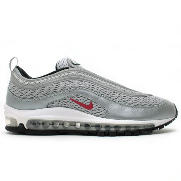 Nike Air Max 97 Premium EM Metallic Silver Varsity Red