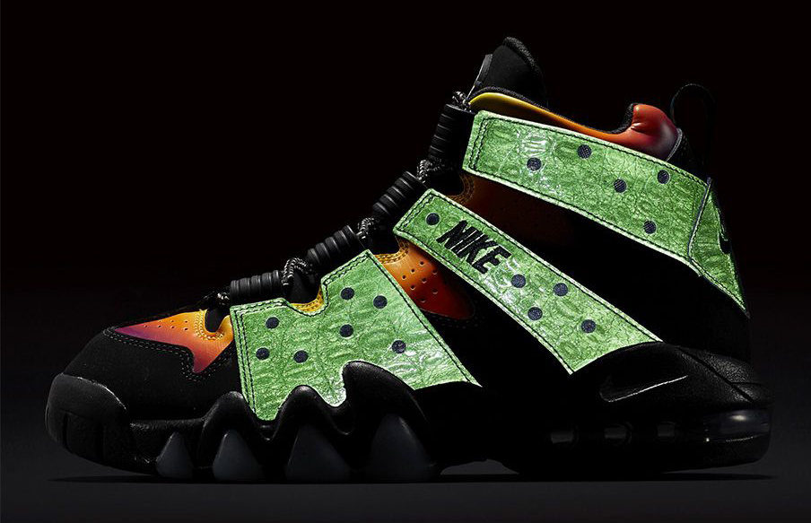 the best attitude b744d 46c6f Nike Made These Charles Barkley Sneakers Look Like Godzilla