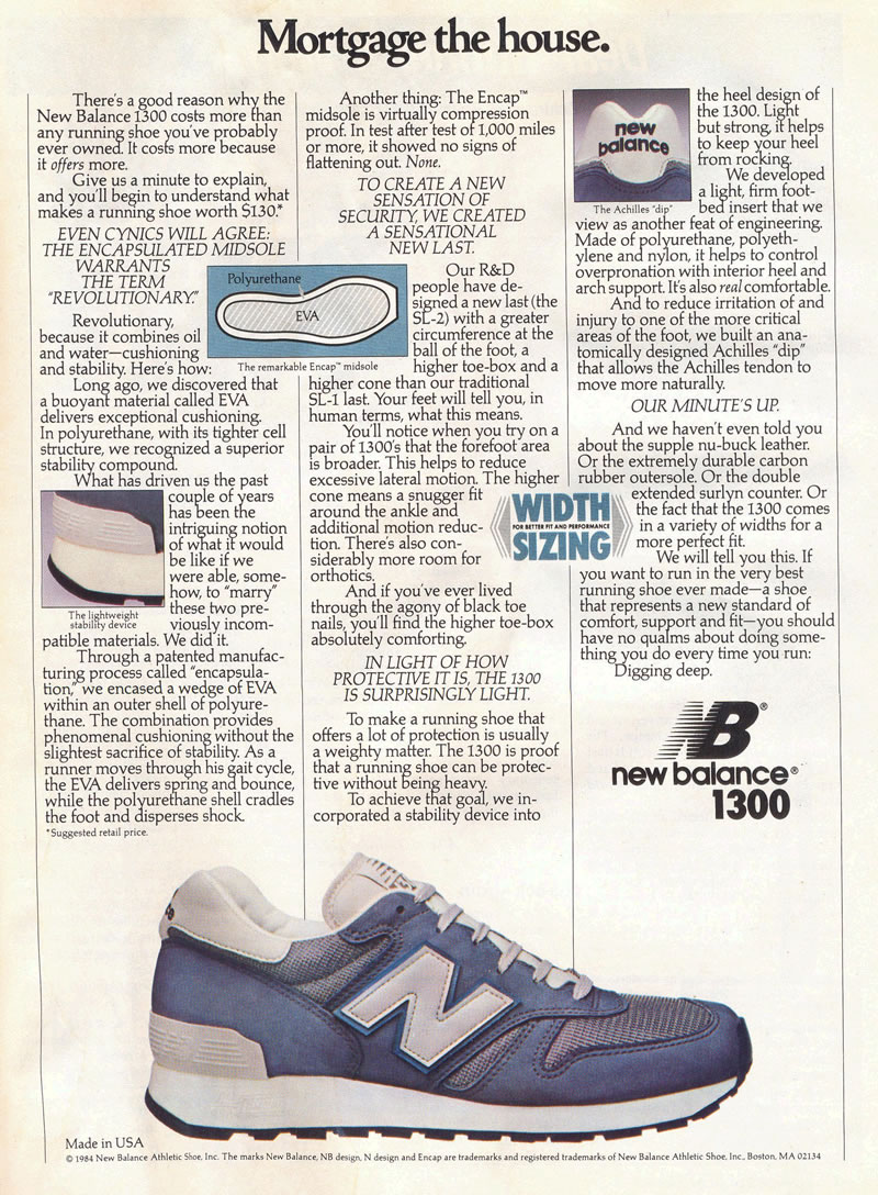 Image result for new balance 1300 1985