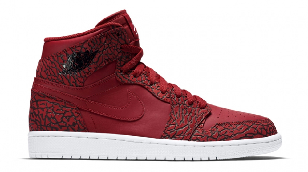 Air Jordan 1 Retro High 'Red Elephant' Gym Red-White-Team Red-White