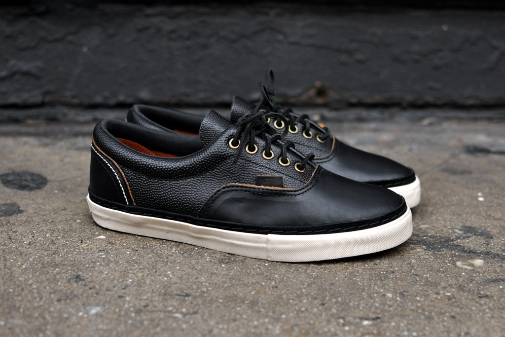 Vans Vault and the horween Leather Company team up for another  ultra-premium version of the Era. 8824fe0bff6a