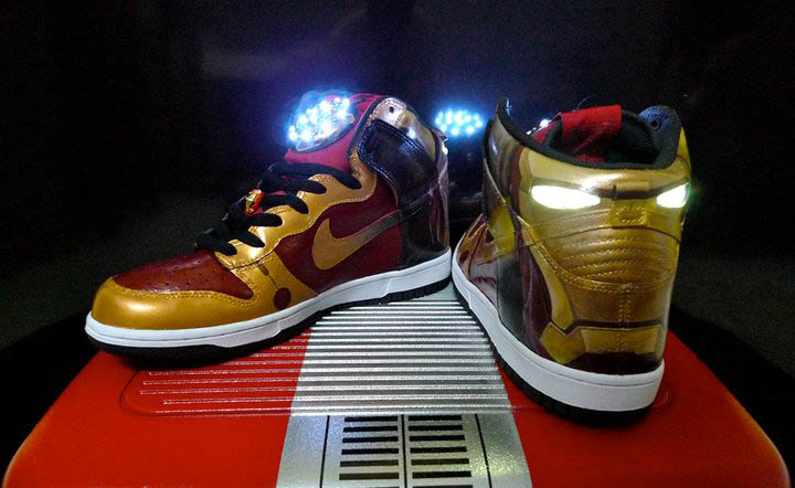 nike dunk iron man