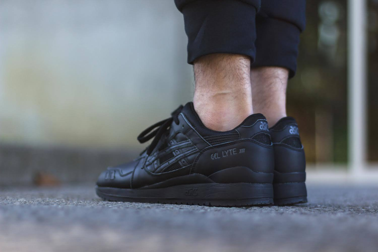 the best attitude 6eb09 5cec5 All-black Everything for the Asics Gel Lyte III | Sole Collector