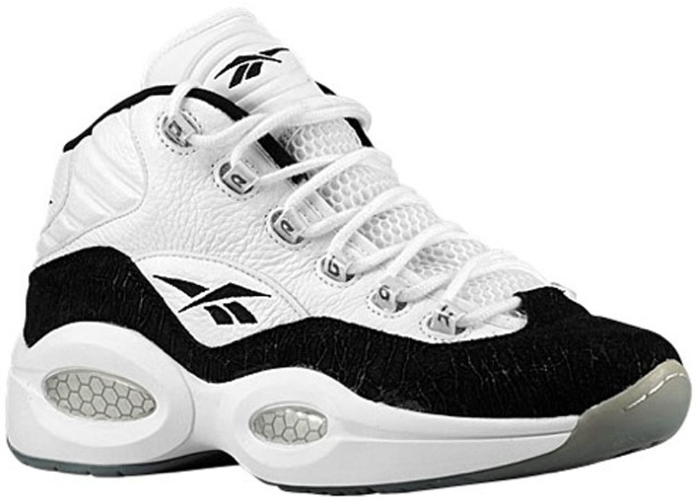 Reebok Question Mid White/Black