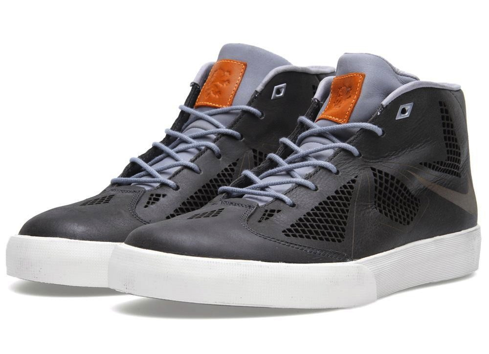 official photos 7f5f2 d3a01 The Nike LeBron X NSW Lifestyle NRG in Night Stadium   Stadium Grey is  available now at select retailers, including End Clothing.