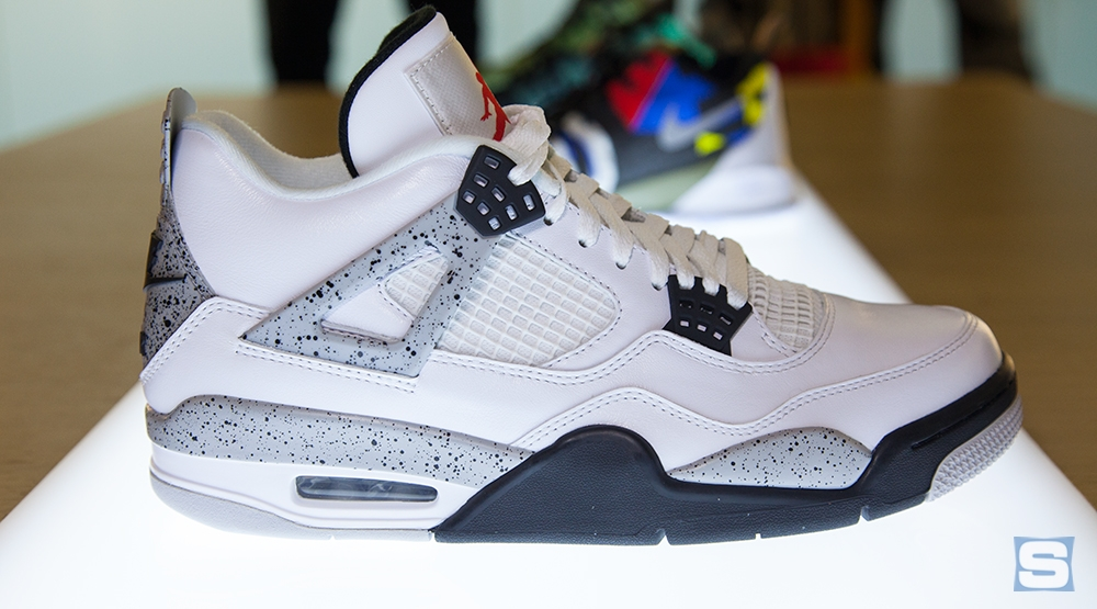 Air Jordan Retro 4 - Gris-tech Noir Blanc /