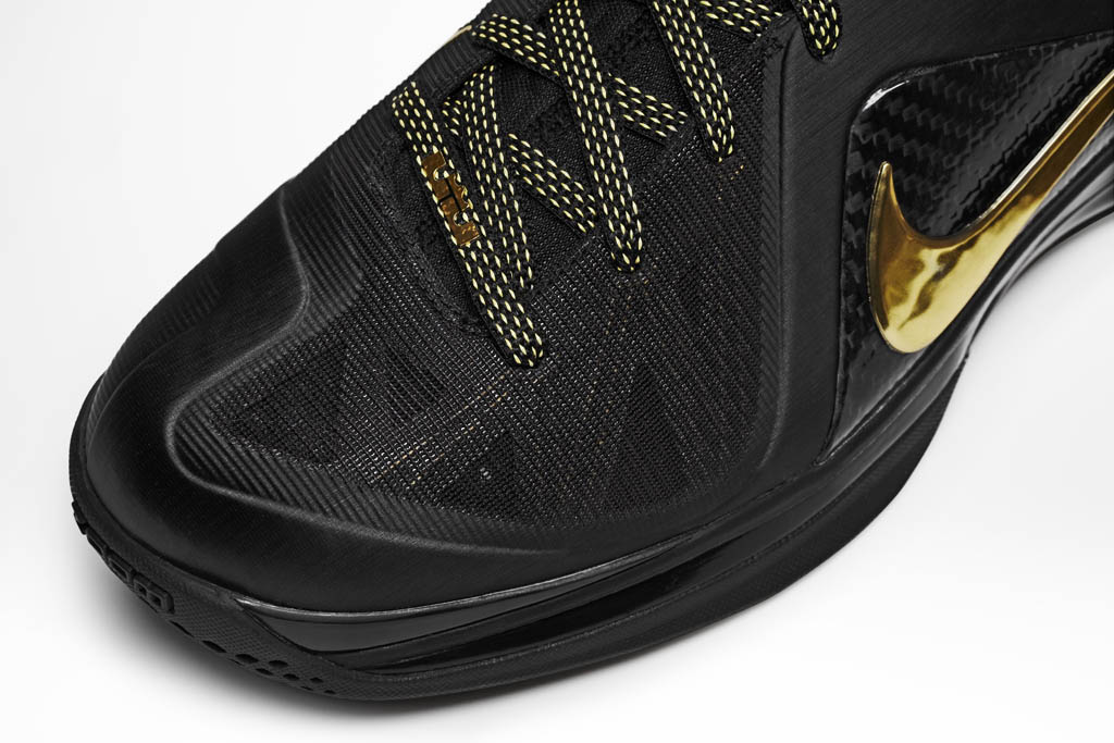 Nike LeBron 9 Elite Away Black Metallic Gold 516958-002 (5)