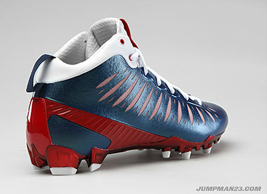 Jordan Super.Fly PE Cleats Andre Johnson Houston Texans (2)