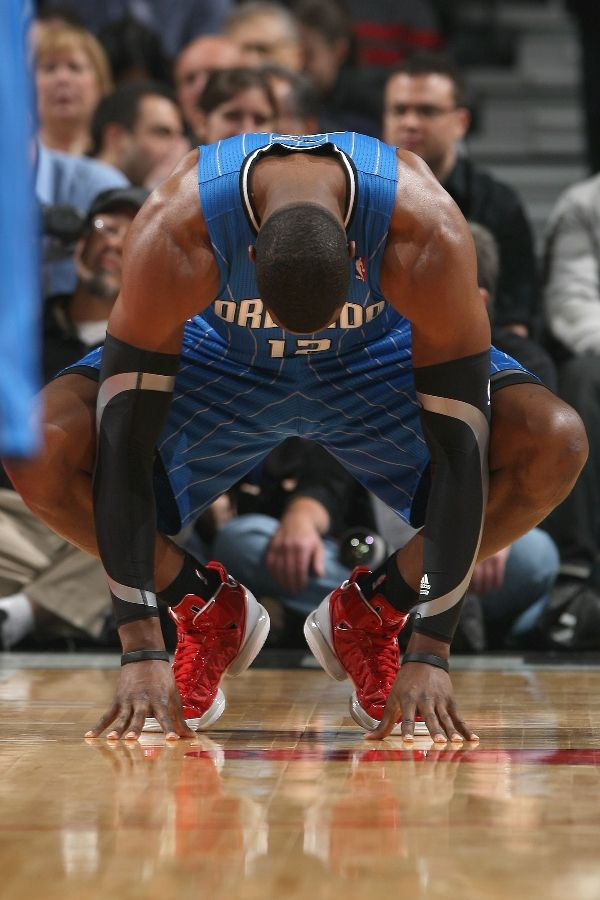 Dwight Howard wearing the adidas Beast Commander - World AIDS Day
