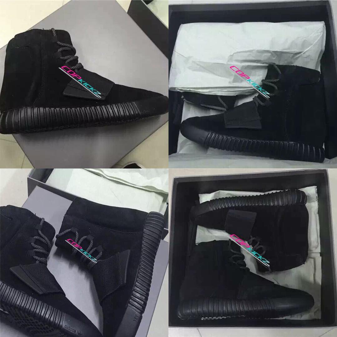 adidas Yeezy 750 Boost Black (3)
