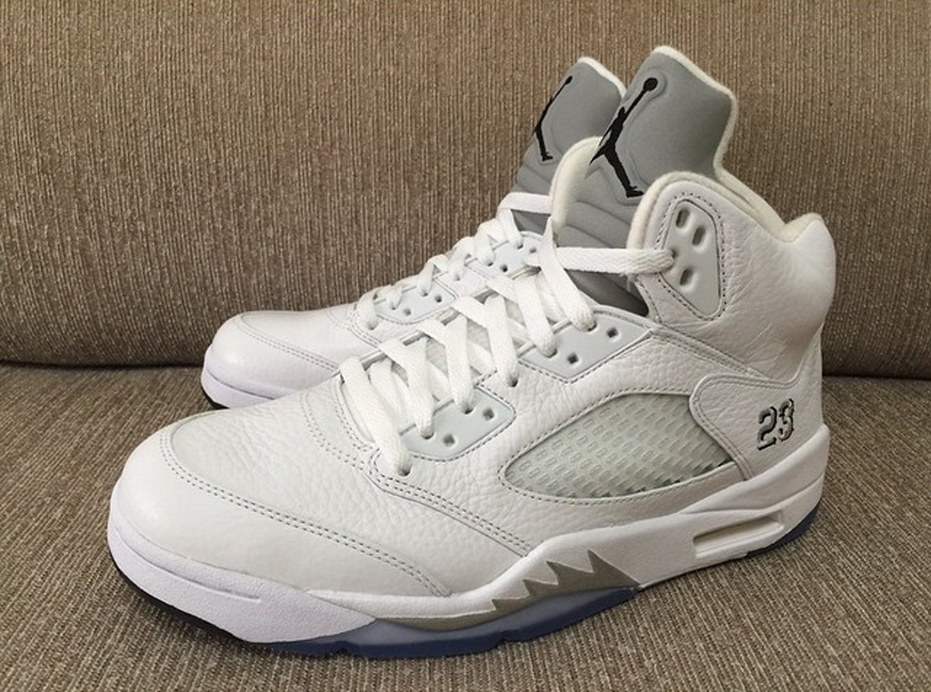 dfd675414c0544 The  White Metallic  Air Jordan 5 Is Returning Soon