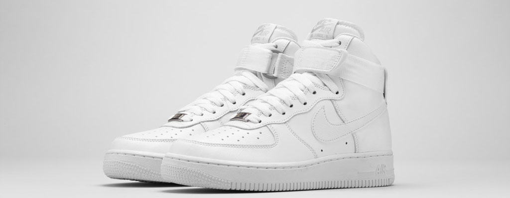 nike air force 1 all white womens