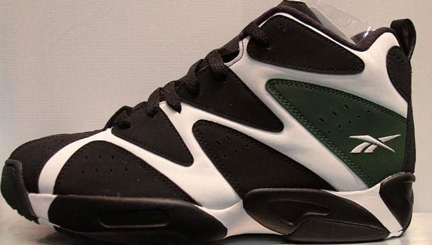 Reebok Kamikaze I Mid White/Black-Racing Green