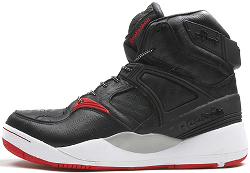 Reebok The Pump Certified Black/Red-Grey