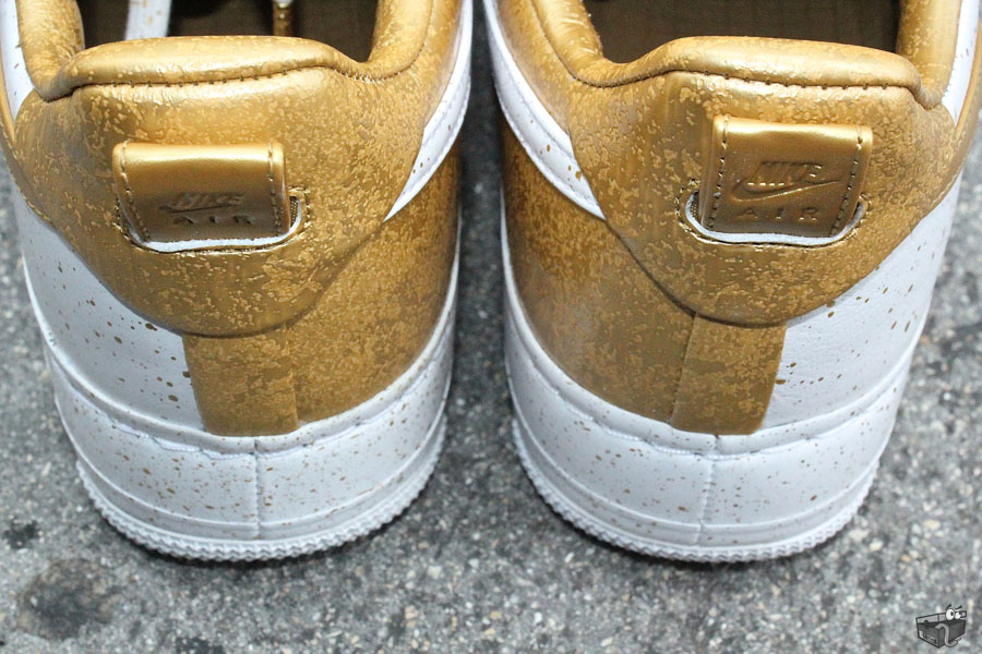 newest 33ddc 6f19f Nike Air Force 1 Low Supreme TZ Gold Medal 516630-170 (2)