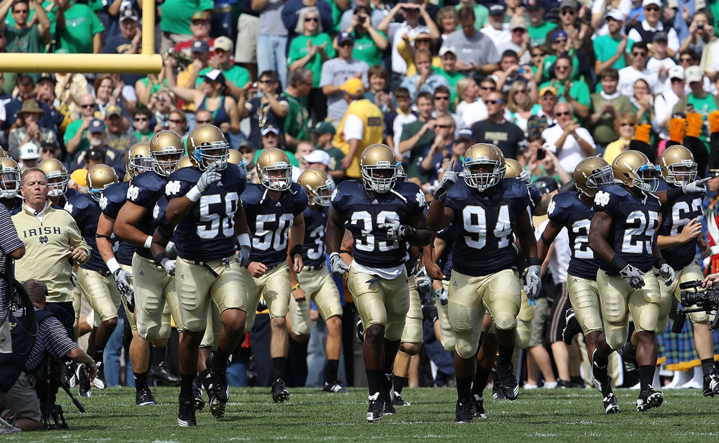 Report: Notre Dame Leaving adidas for Under Armour