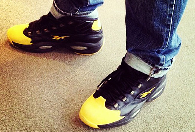 Reebok Question Black/Yellow