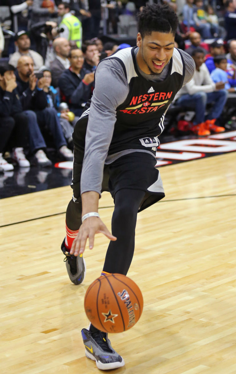 Anthony Davis Wearing the 'All-Star' Nike Air Max Audacity