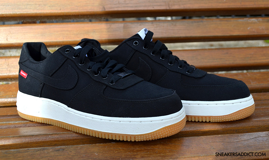 site jordans nike - Supreme x Nike Air Force 1 Low - 30th Anniversary - Black | Sole ...
