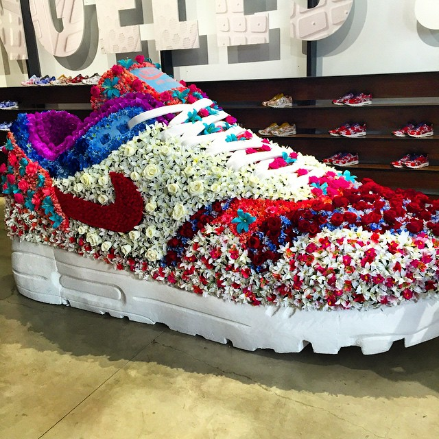 Nike Dropped the Most Floral Sneaker