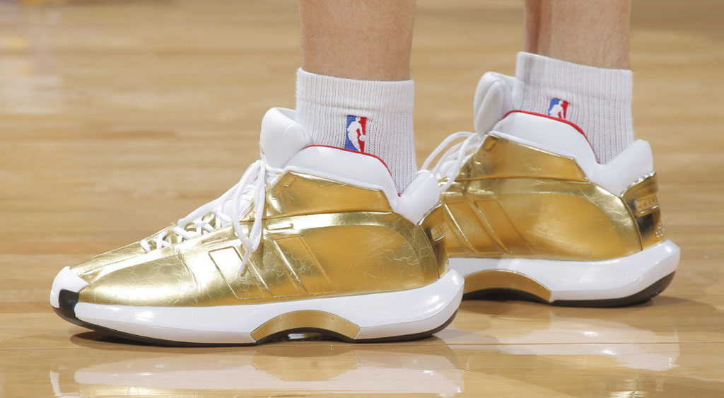 Nemanja Nedovic wearing adidas Crazy 1 Awards Season