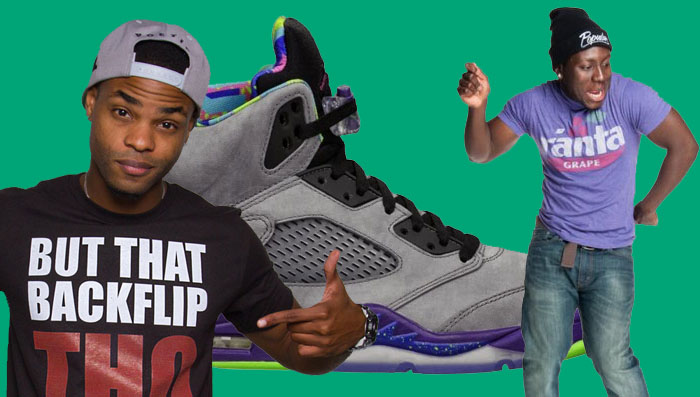KingBach & Jerry Purpdrank's Best Sneaker Vines