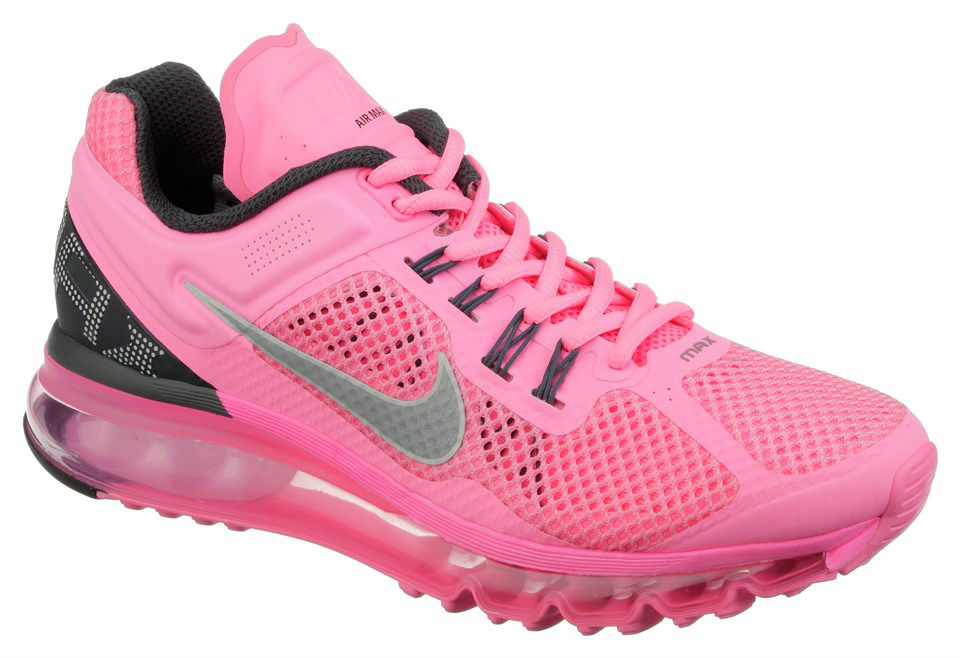 Nike Womens WMNS Air Max 2013 Pink Grey (1)