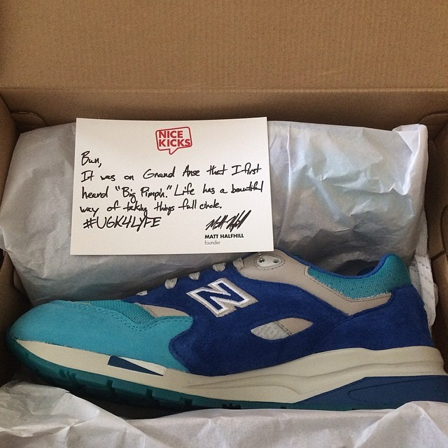 Bun B Picks Up Nice Kicks x New Balance 1600 Grand Anse