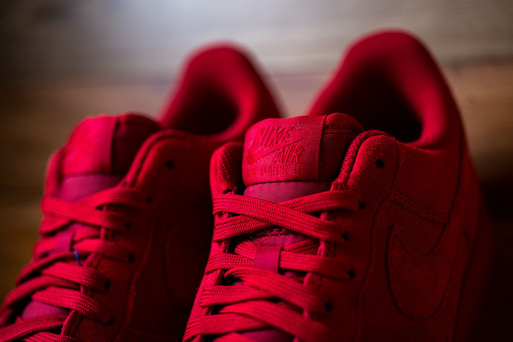 Nike Air Force 1 Low Red Suede (6)