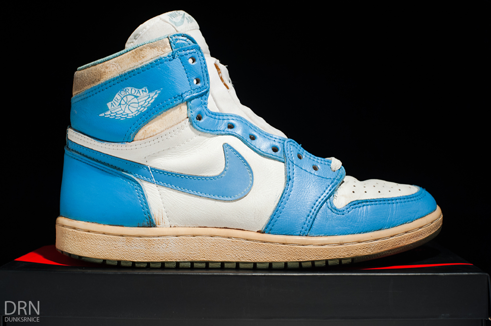 The Top 10 'UNC' Air Jordan Releases of All-Time - Air Jordan I 1 OG Powder